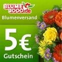 Blume 2000 Gutschein